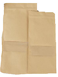 Kraft Paper Bags Of Food Self-Transparent Window Prescribing Nuts Paper Bag A Package Ten 9 * 14 *3