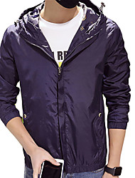 In the spring of 2016 new men's jacket mens jacket Korean slim thin summer sun sports clothes