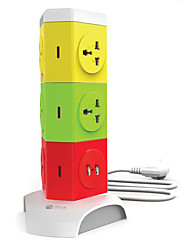 proteção contra raios multifunções e um cabo usb sobrecarga com inteligente tomada fileira régua de energia