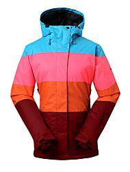 GSOU SNOW® Ski Wear Ski/snowboardjassen Dames winter Wear Polyester winterkledingWaterdicht / Ademend / Houd Warm / Winddicht /