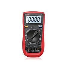 multímetro digital para teste de frequência grande capacidade (modelo: ut890d)