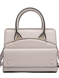 Stiya Fashion Genuine Leather Lovely Ears Design Mulitfunction Large Capacity Business Casual Shoulder Bag