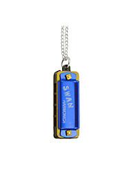 4 trous 8 petit mini-collier harmonica cadeau enfants harmonica