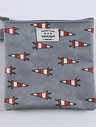 Cute Korean  Waterproof Zero Wallet Health Cotton Bag Digital Small Sanitary Napkin Package Bag Lipstick