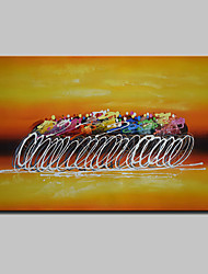 Modern Abstract Hand Painted Oil Paintings On Canvas Wall Art Pictures With Stretched Frame Ready To Hang