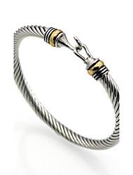 Men Bracelet Bracelets & Bangles Stainless Steel Bangle Hooks Bracelet Bracelet Homme Charm Bracelets