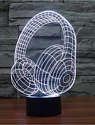 star wars casque tactile gradateur LED 3D lumière de nuit lampe atmosphère décoration 7colorful éclairage nouveauté lumière de Noël