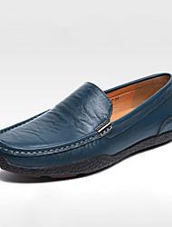 Da uomo-Sneakers-CasualPiatto-PU (Poliuretano)-Nero Blu Marrone