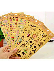 Wedding/Birthday  Scrapbooking & Stamping Multi Color 1set Stickers