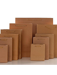 Kraft Paper Bag,Gift Bag,Packing,Hand Bag,Leather Bag(35*11*28,one piece)