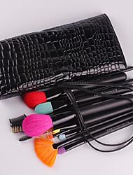 15Pcs Wool Makeup Brush Set Portable Beauty Makeup A Full Set Of Brushes