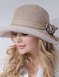 Mujer Sombrero para el sol Casual-Verano-Poliéster