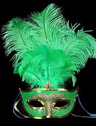 Plastique Décorations de Mariage-1piece / Set Masque Halloween Classique Vert Printemps / Eté / Automne / Hiver Non PersonnaliséCouleurs