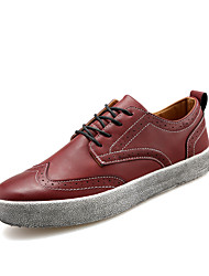 British Style Men's High Quality Retro Skateboarding Shoes for Party