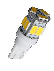 4X T10 W5W 192 168 194 7014 11SMD 5730 11 LED Warm White Side lights LED Wedge Light 12V