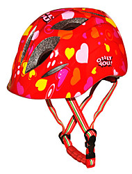 Casque Vélo(Blanc / Rouge / Bleu / Orange,PC / EPS)-deUnisexe-Cyclisme / Sports de neige / Patin à glace Sports 10 Aération S: 52-55CM
