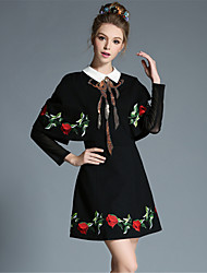 AOFULI Winter Large Size Women Vintage Elegance Luxury Sequins Embroidered Cloak Style One Piece Dress