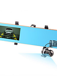Front And Rear Dual Lens Rear View Mirror Wide Angle Driving Recorder Hd 1080p Reversing Visual Parking Monitoring