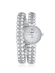Women's Dress Watch Fashion Watch / Quartz Alloy Band Vintage Casual Silver Gold Strap Watch