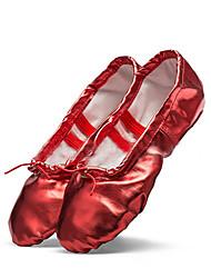 Non Customizable Women's Dance Shoes Leatherette Leatherette Ballet /  Sneakers Flat Heel Beginner