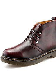Men's Genuine Leather Boots Snow Boots