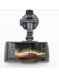 nouveau hd double lentille 360 degrés lecteur de surveillance de stationnement panoramique de sécurité enregistreur
