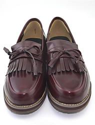 Women's Loafers & Slip-Ons  Comfort PU  Casual Low Heel shoes