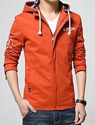 Men's vogue of new fund of 2016 autumn winters is recreational hooded jacket coat HXTX-8802