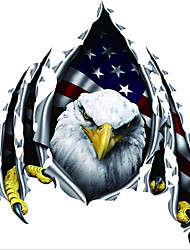 Reflective, Eagle Sticker, Door, Engine Cover Fashion Personality Sticker R408
