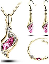Schmuck Halsketten / Ohrringe / Armband Halskette / Armband / Halskette / Ohrringe / Ohrringe / Armband / Braut-Schmuck-Sets / SetModisch