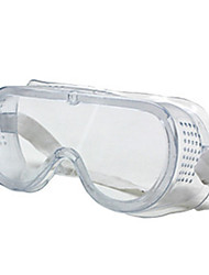 Transparent Color, PC Material Goggle, Paint Chemical Goggles A Pack of Four