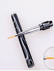 1PC Nail Art tool Coloured Drawing Or Pattern Cancel The deal Draw Lines Pen Black The Aedes The Aedes Pull a Pen
