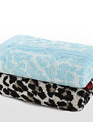 """1 PC Full Cotton Hand Towel 13"""" by 29"""" Super Soft Leopard Pattern"""