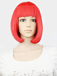 OHCOS Anime Noragami Character Ebisu Kofuku Cosplay Wig Red Short Curly Cosplay Wigs