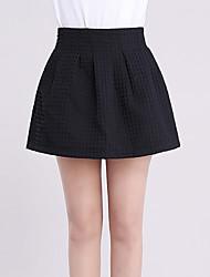 Damen Röcke - Sexy / Einfach Übers Knie Andere Mikro-elastisch