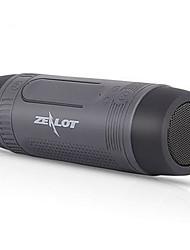 haut-parleurs zealot bluetooth sans fil s1, éclairage de charge car audio