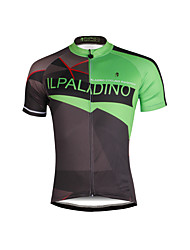 PALADIN® Cycling Jersey Men's Short Sleeve BikeBreathable / Quick Dry / Ultraviolet Resistant / Lightweight Materials / Reflective Strips