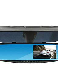 4,3-дюймовый вождения рекордер, 1080p HD камеры широкий угол зрения зеркала парковки мониторинга вождения рекордер