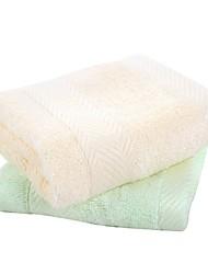 """100%бамбуковое волокно-34*34cm(13""""*13"""")-Однотонный-Полотенца для мытья"""