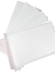 branco saco plástico de bolhas envelope / impermeáveis Pearl filme sacos bolha personalizado de entrega de um pacote de dez