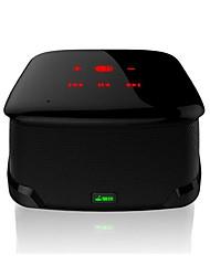suprimentos automotivos portátil sem fio estéreo mini subwoofer telefone do carro falante NFC
