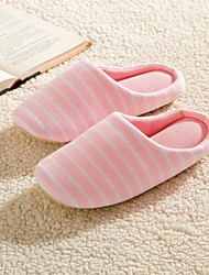 Modern/Contemporary Striped Anti-slip Slide Slippers Women's  Indoor Slippers Free Size  Pink / Purple