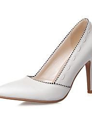 Women's Heels Spring / Summer / Fall / Winter Heels / Basic Pump / Comfort  / Pointed ToeSyntheticMaterialsUpper