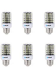 18W E14 E26/E27 B22 Ampoules Maïs LED B 108 SMD 5733 1500 lm Blanc Chaud Blanc Froid Décorative AC 100-240 V 6 pièces