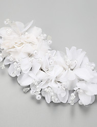 Women's Crystal / Chiffon / Leatherette Headpiece-Wedding / Special Occasion Headbands 1 Piece