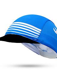 Casquette de Vélo Chapeau Cyclisme Pare-vent Ecran Solaire Unisexe Bleu Térylène