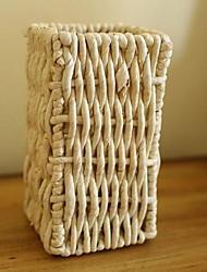 European Pastoral Modern Fashion Rattan Wicker Vase