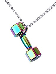 Unisex's Pendant Necklaces  Stainless Steel High Polished Punk Style Party  Daily Halloween Birthday Gift(1pc)