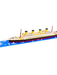DIY Toys / Blocs de Construction / diamant Blocks / Figurine Pour cadeau Blocs de Construction Maquette & Jeu de Construction Navire