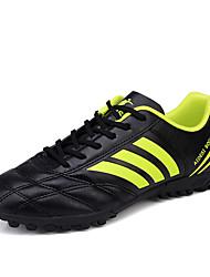 Femme-Sport-Noir / Bleu / Vert / Blanc-Talon Plat-Confort / Bout Arrondi-Chaussures d'Athlétisme-Polyuréthane